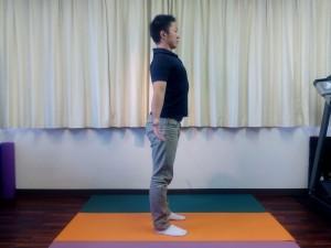 胸椎の連動呼吸(立位)③