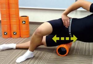 腸脛靭帯・_大腿筋膜張筋の筋膜リリース2