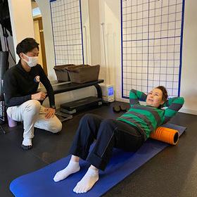 股関節痛が改善し、メンテナンスの必要性を一段と感じました♪